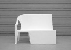 It's a Bench! It's a Chair! It's Both: Benchchair by Thomas Schnur