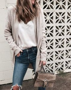 sweater + lace