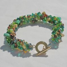 Sea Kelp crocheted bracelet £28