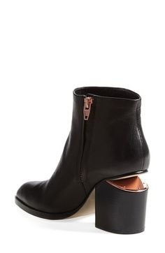 Alexander Wang 'Gabi' boot. The rose gold detailing on the heel is to die for!