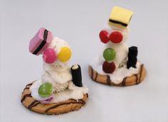 Backen zu Weihnachten: Zucker-Schneemänner