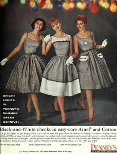 JC Penney's Summer Dress Carnival, May 1960