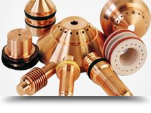 Plasma Consumables - Sai Weld India Manufacturer and Suppliers of Plasma Consumables, Plasma Cutters, Plasma Torches, CNC Machines etc.