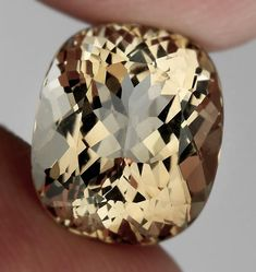 Crystals and gemstones - Exquisite Silver Caramel Topaz with fabulous luster and cut VVS natural gem – Crystals and gemstones Minerals And Gemstones, Crystals Minerals, Rocks And Minerals, Crystals And Gemstones, Gems Jewelry, Gemstone Jewelry, Jewellery, Diamonds And Gold, Rocks And Gems
