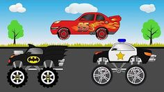 Learn Colors with Car Carrier Truck - Colors For Children - Video Learning For Kids - YouTube