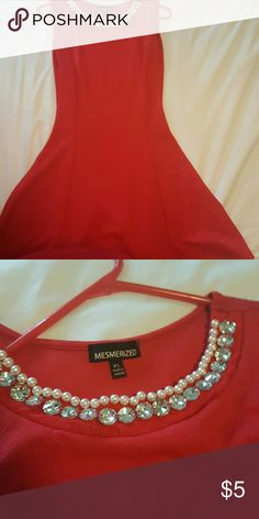 Dress Good condition the size is xl but run small then like M Mesmerized  Dresses Mini