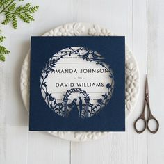 fairytale-navy-blue-laser-cut-wedding-invitations-swws025