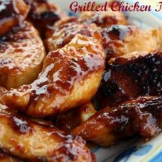 Cracker Barrel Grilled Chicken Tenderloins - 4 or 5 chicken breasts, cut into pieces or 12 chicken tenderloins; 1- 8 oz bottle Italian Dressing (1 cup);  2 teaspoons fresh or bottled lime juice; 4 teaspoons honey
