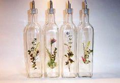 DIY Pressed Flower Glass Art