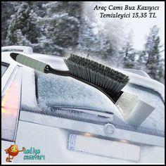 Karlı havaları fazlasıyla hissettiğimiz bu günlerde arabanızın camlarını temizleyebileceğiniz buz temizleyici fırça www.hediyecanavari.com'da!