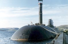 Russian biggest submarine typhoon photo