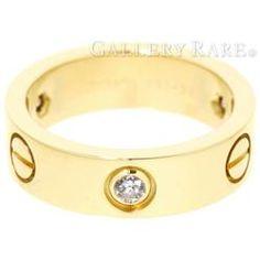 カルティエ リング ラブリング ハーフダイヤ ダイヤモンド 0.22ct K18YGイエローゴールド リングサイズ52 B4032400 B4032452 Cartier Love 指輪 ジュエリー ダイアモンド