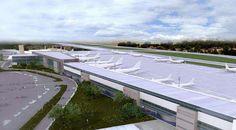Novo Terminal 2 do Aeroporto Internacional de Belo Horizonte (BH Airport)