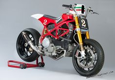 Ducati 966 F1 Tracker by Marcus Moto Design
