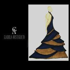 Sketch - working #handmade #fashionsketch #fashiondesigner #fashiongirl #fashionladies #fashionlife #lovemyjob  @ga__official
