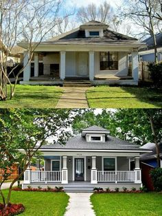 Curb appeal.. transforming the outside of your home...