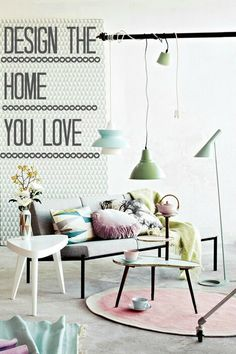 Whether you have a new build home or something older, make it a blank canvas and design a home that you really love.