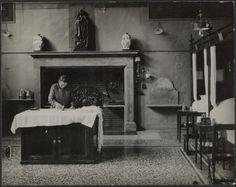 [Worker Ironing, Beaune Hospital]; André Kertész (American, born Hungary, 1894 - 1985); Beaune, France; 1929; Gelatin silver print; 18.2 x 23.1 cm (7 1/8 x 9 1/8 in.); 84.XM.193.81; J. Paul Getty Museum, Los Angeles, California