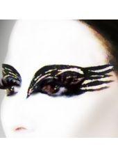 #partycity #halloween Dark Swan Peel Off Eyeshadow-Party City