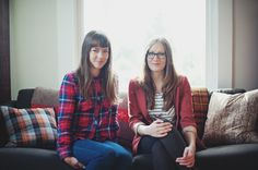 my roommate and I.  I wear glasses :)    photo by Kristen Marie  http://www.iamkristenmarie.com