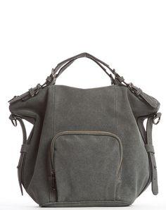 Orian Ultrasuede Satchel Bag - Gray – Cri de Coeur