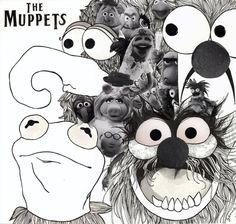 The Muppets and The Beatles' Revolver  by Genie Espinosa