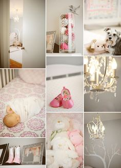 Baby Hope's Pink and Grey Nursery | COUTUREcolorado BABY
