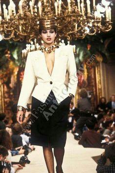 Yves Saint Laurent   Spring 1985