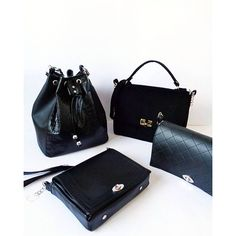 Which One Will You Choose?  #miss_s_design #handmade #black #bags #Bucketbag #Foxbag #BoyBoxbag #Lolitabag #madeinbih #bhproduct #madewithlove #fashiondesign #fashion #style #trend #apparel #instadaily #bagaddict #trendy #stylish #wearitloveit #wiw #potd #wearityourway ✌