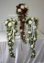 Brautstrauss Wasserfall mit Rosen ,Bridebouquets x large with roses
