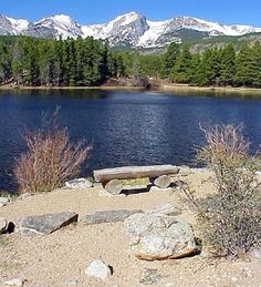 Sprague Lake In Rocky Mtn. National Park, CO - where my husband and I got married.