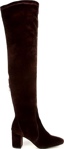 52d9945775a Coconuts Women s Scout Over The Knee Boots in Chocolate Velvet. The Scout  Over the Knee