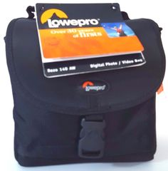 Lowepro Digital Photo Video Bag Rezo 140 AW Black All Weather Cover Carry Strap #Lowepro