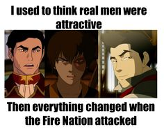Zuko is my favorite! Then Mako. Then Iroh II. But Iroh's voice.... Idk, he might be tied with Mako...