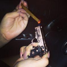 Gun Torch Lighter