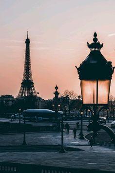 Dusk Paris..