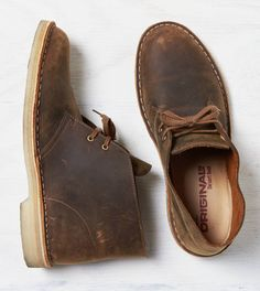 Medium Brown Clarks Originals Desert Boot