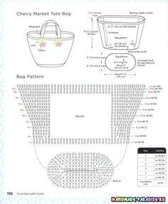 Discover thousands of images about Nokkapood TatoBilledresultat for daniela gregis bagDiscover thousands of images about Luty Artes Crochet: Bolsas de crochê com gráficosFashion Bubbles - Moda e o NovCrochet Patterns Bag Crochet bag / simple and pr Crochet Clutch, Crochet Handbags, Crochet Purses, Crochet Diagram, Free Crochet, Knit Crochet, Crochet Books, Crochet Stitches, Crochet Patterns