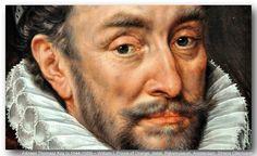 Adriaen Thomasz Key (c.1544-1589) – Prince Willem I van Oranje-Nassau (William I of Orange-Nassau), also known as Willem de Zwijger (William the Silent), born 1533, murdered in 1584. detail. Rijksmuseum, Amsterdam.