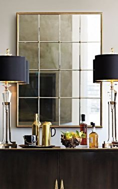 Bring on the Brass: 10 Times Brass Interiors Nailed It || TheHighBoy || #highboystyle #antiquesmakeitbetter #antiques #vintage