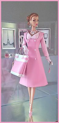 "OOAK Fashions for Silkstone /12""; Fashion Royalty / Vintage barbie - With Zipper 