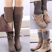 Women's Fashion Designer Buttons Leggings Autumn Winter Short Boot Hollow Ma … - Everything About Knitting and more :)çorap tozluk Crochet Patterns Socks and more :) Cool trick - good gift for some friends =D Global Online Shopping for Apparel, Phones, Crochet Leg Warmers, Crochet Boot Cuffs, Crochet Boots, Crochet Clothes, Diy Clothes, Slippers Crochet, Guêtres Au Crochet, Crochet Baby, Diy Fashion
