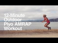 A 12-Minute Outdoor Plyo AMRAP Workout You Can Do Anywhere - 12 Minute Athlete