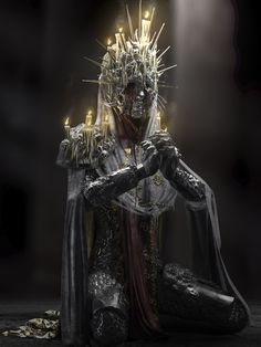 Guided and blinded by the divine sun of the Father, they give upon their human eyes with the promise of gaining in exchange the sight of the old gods. Dark Fantasy Art, Fantasy Artwork, Dark Art, Dark Creatures, Fantasy Creatures, Gothic Horror, Horror Art, Monster Concept Art, Modelos 3d