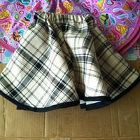 """How to finish the circle skirt for girls. I finally have been able to uploaded the video you all have been asking for """" How to Finish the Circle Skirt for Girls """". https://youtu.be/IYuvzVNtV9Q"""