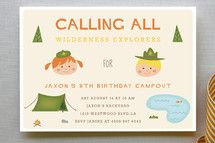 Adventure Awaits Children's Birthday Party Thank Y... | Minted