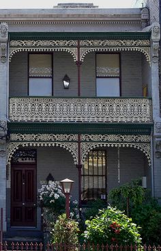 107 Best Australian Victorian Homes Images Victorian Cottage - A-lovely-grey-house-in-paddington-sydney