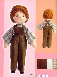 Mimin Dolls: Boy - free pattern and tutorial Sewing Dolls, Waldorf Dolls, Doll Hair, Doll Shoes, Felt Dolls, Soft Sculpture, Cute Dolls, Couture, Doll Patterns