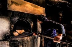 Old bakery in Crete village Old Couples, Crete, Bakery, Painting, Pains, Home Decor, Bread Oven, Bakery Business, Decoration Home