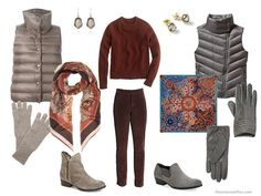 Choosing an Accent Color for Rust in your capsule wardrobe